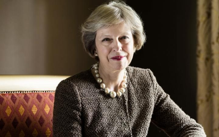 British PM May says country should unite on Brexit plan