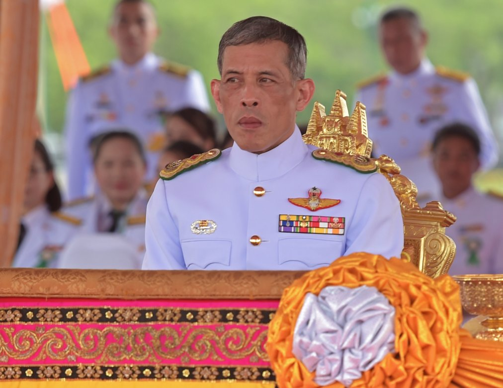Crown prince officially becomes Thailand's new king