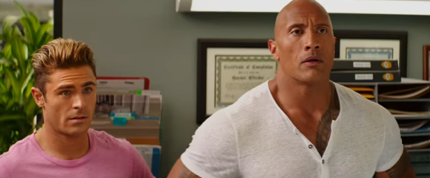 Zac Efron , Dwayne Johnson 'The Rock' On 'Baywatch' Movie