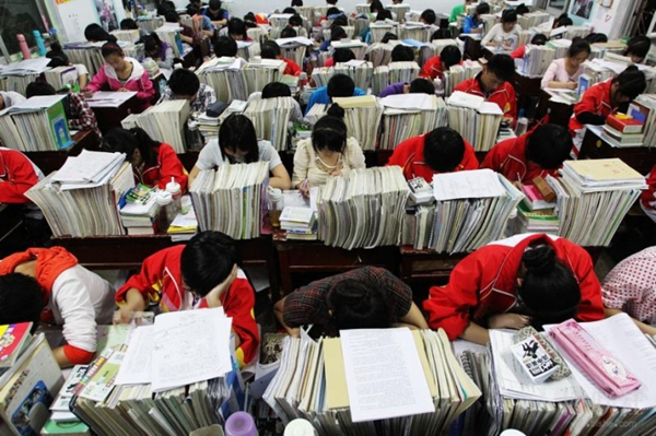 a-group-of-chinese-students-reviewing-for-the-national-college-entrance-exams-or-gaokao