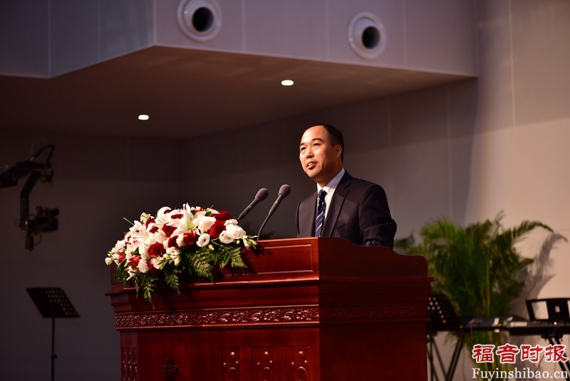 Mr. Ma Lihuai, Director of the Central Committee of the CPC Central Committee, addressing during the event.