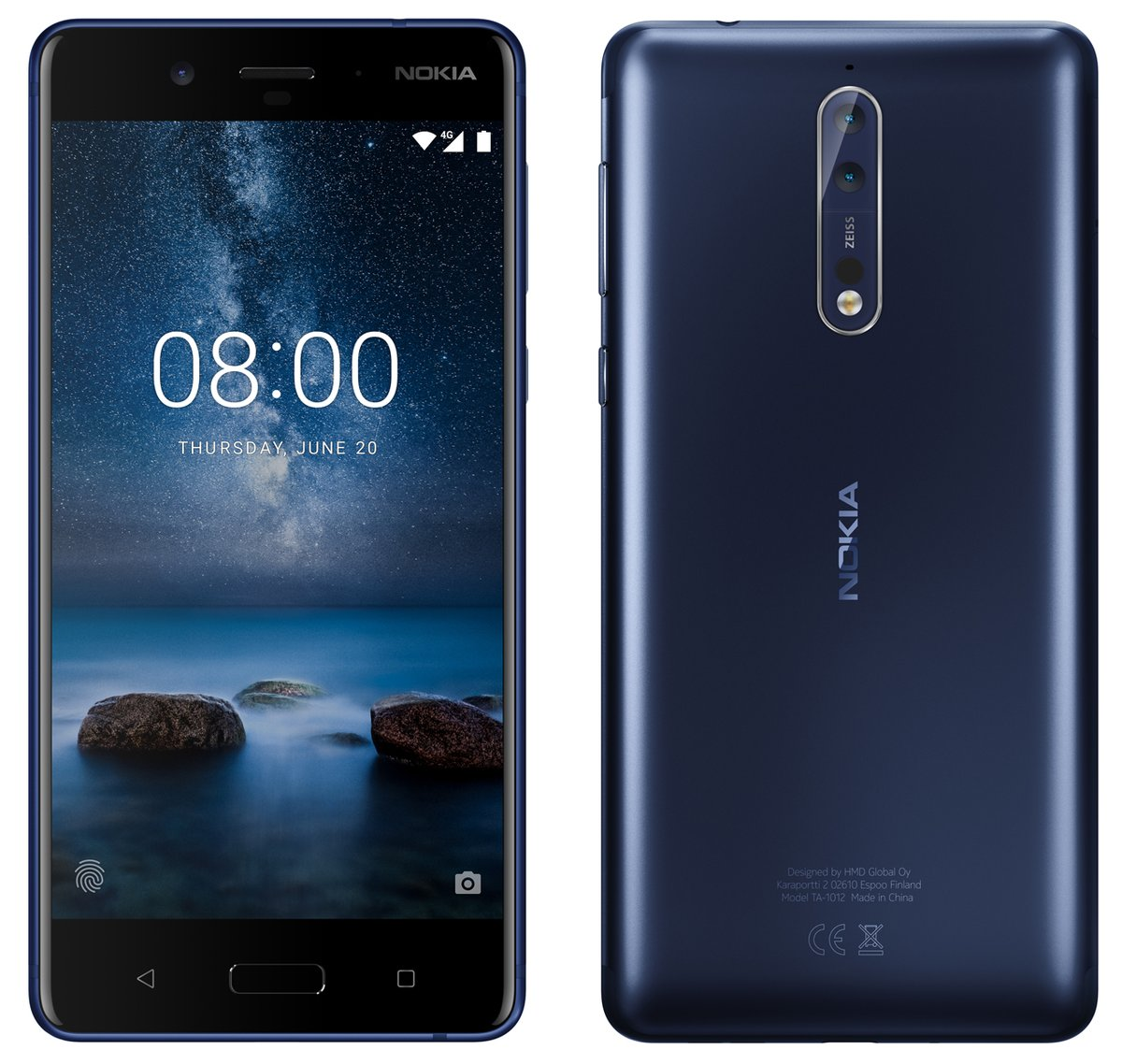 Nokia 8 Render Leaks Online, Could be Officially Unveiled on July 31
