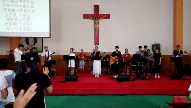 the-praise-and-worship-meeting-in-shandong-huimin-catholic-church-on-august-11-2017