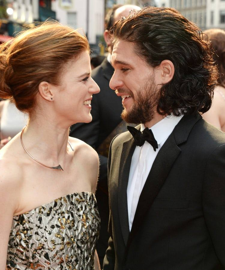 Kit Harington and Rose Leslie's offical engagement announcement is incredible
