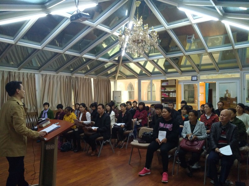 teacher-cao-jinsuo-gave-a-lecture-about-demonic-possession-and-psychosis-to-the-visitation-ministry-of-wuxi-church