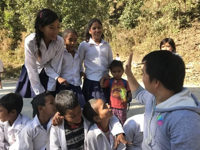 the-students-in-nepal