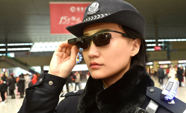Chinese police don high-tech glasses to apprehend suspects