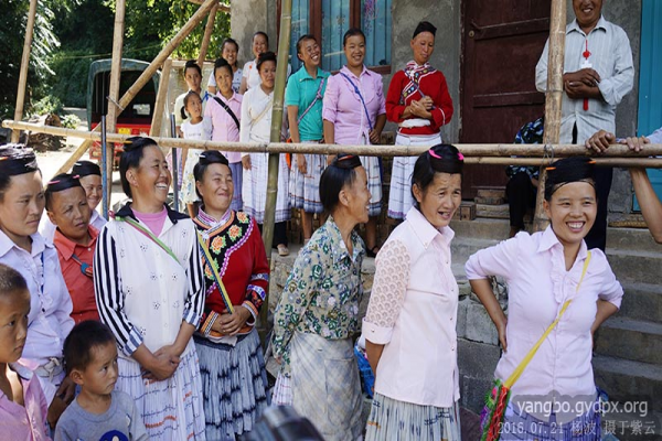 The Miao people are listening to Steve's talking (Photo provided to CCD)