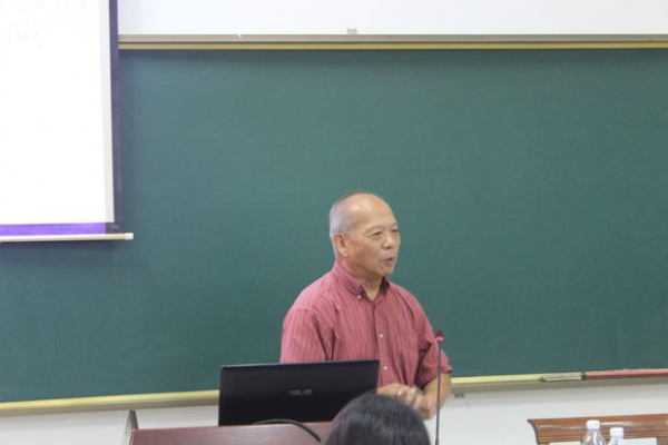 Prof. Chen Chaorong in the retreat (Photo Provided to CCD)