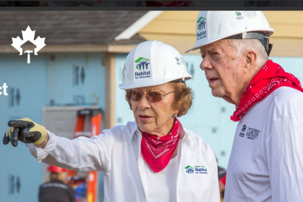 jimmy-carter-and-rosalynn-carter-worked-to-build-houses-for-local-people-in-canada