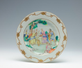 Ancient Chinese porcelain depict the bible story