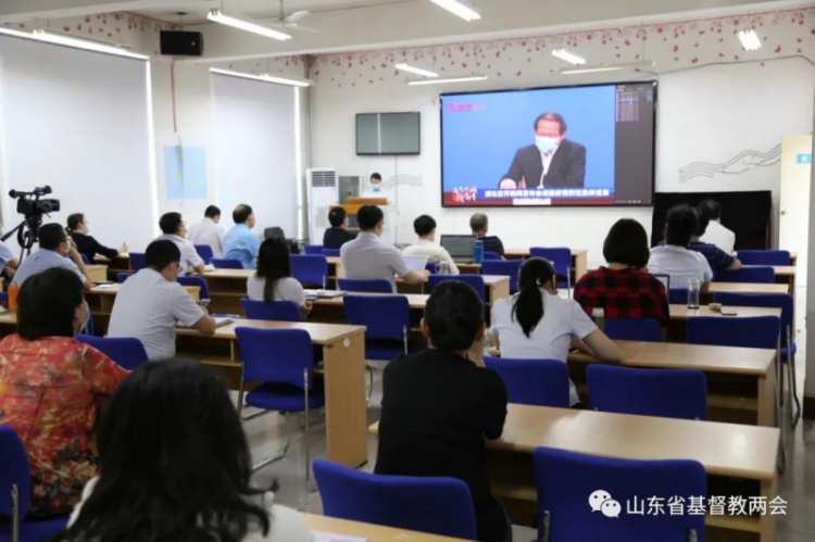 Shandong Theological Seminary carried out pandemic  education for the opening of school on May 28, 2020