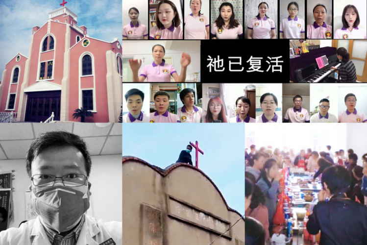 Nos. 1-5 of China Christian Daily's top 10 news stories of 2020