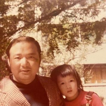 Sammi Cheng and her father