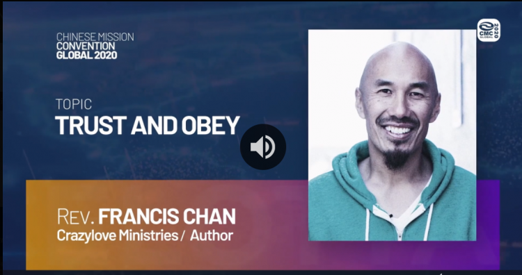 The introduction of Rev. Francis Chan's sermon entitled