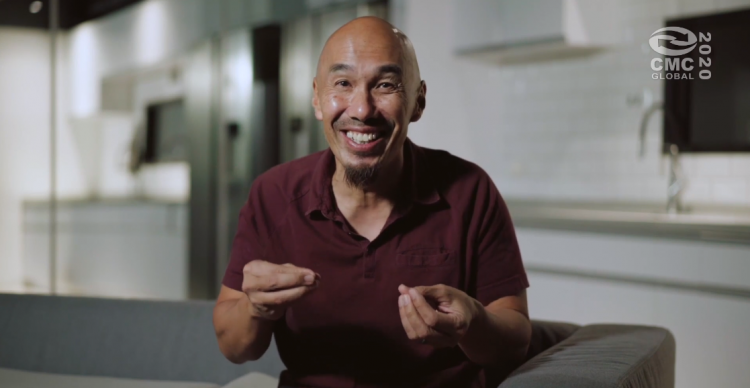 Rev. Francis Chan, founder of Crazylove Ministries, preached a sermon entitled