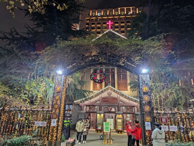 Hangzhou Christian Sicheng Church celebrated Christmas on December 25, 2020.
