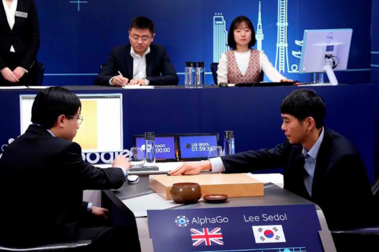 Lee Sedol versus Google's AlphaGo