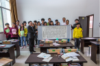 The visiting team of Haidain Church with the young seminary students of Yunnan Yiliang Christian Training Center