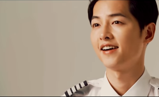 Song Joong Ki - JEJU AIR (Making CF)