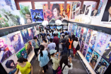Festival goers at the China International Cartoon and Animation Festival