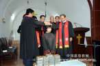 CCC holds ordination ceremony in local urban church in Shaanxi.
