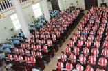 He'nan Bible School holds commencement in the seminary chapel.