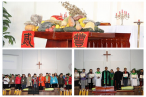 Beijing Yanqing Church holds the Thanksgiving Service.