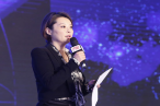 Chinese Christian Actress Yuan Li gave the speech on the ceremony