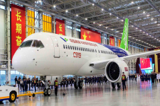 C919 at the Shanghai factory on November 2