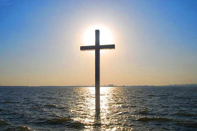 The Cross in Water