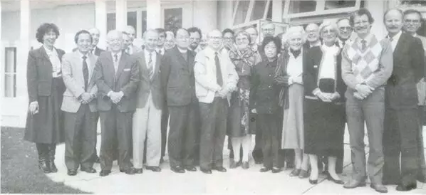 The first ENAP conference conducted in 1987