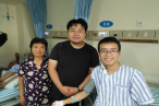 On August 13, four people including Rev. Zhang Kai from Jiangsu Theological Seminary visited Yu Jie, funding him 50,000 yuan on behalf of the seminary.
