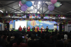 MIgrant Christian workers celebrate the Christmas