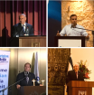 Israeli Prime Minister Benjamin Netanyahu, Zeev Elkin, Israeli Minister of Jerusalem Affairs and Minister of Immigration Absorption, Nir Barkat, Mayor of Jerusalem, and President Reuven Rivlin, addressed respectively.