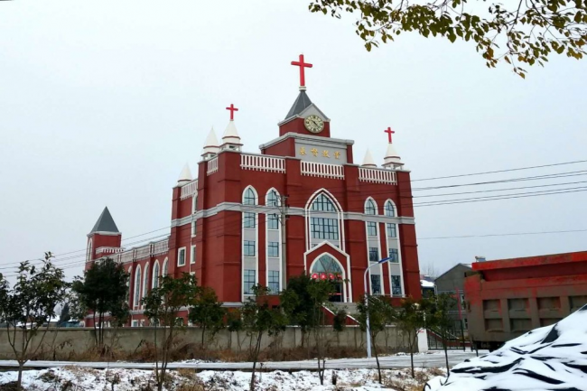 Hangzhou Sicheng Church, one campus of Chongyi Church