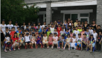 Beijing GangWashi Christian church held a five-day children English summer camp activities: Leading by teachers and students from Calvin seminary, Beijing GangWashi Christian church held a five-day children English summer camp activities