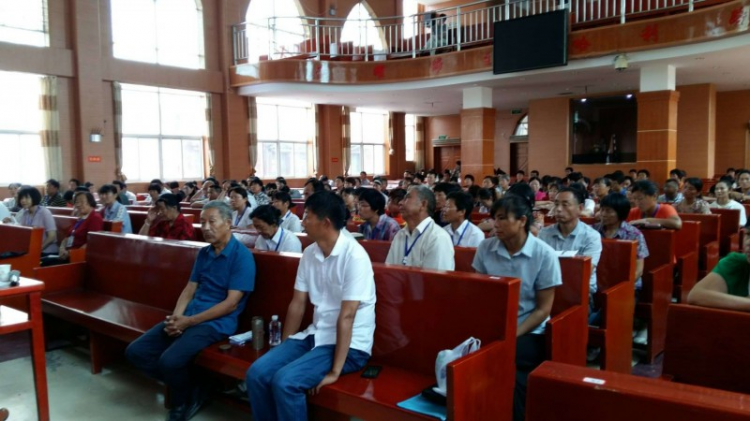 263 pastoral workers received training in the church of the Fengtai County, Huainan, Anhui, Aug 2018.