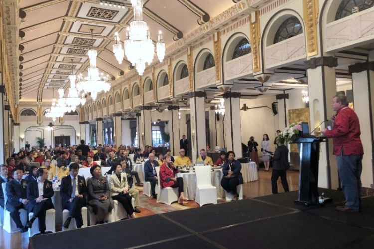 The 2018 YMCA World Urban Network (WUN) was opened in Shanghai on Oct. 15, 2018.