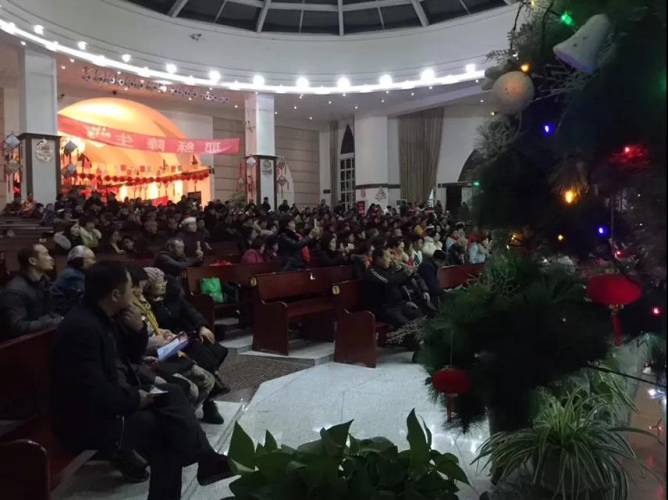 Mianzhu Gospel Church, Sichuan