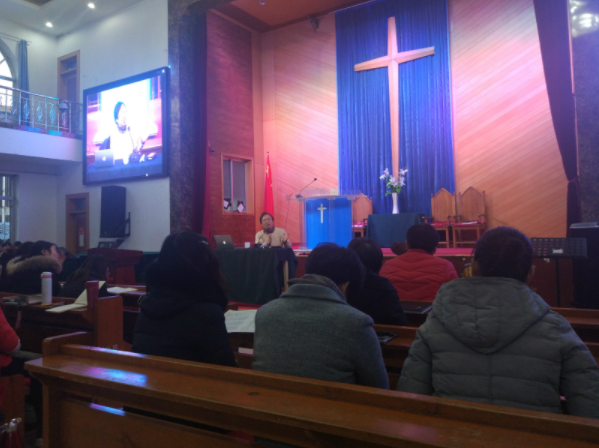 Recently Professor Liu Ping from Fudan University held a lecture on Bible translations.
