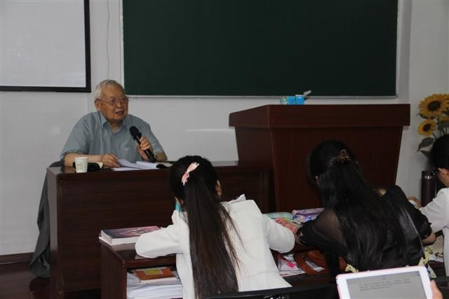 On May 29, 2015, Elder Ji Jianhong gave a speech titled