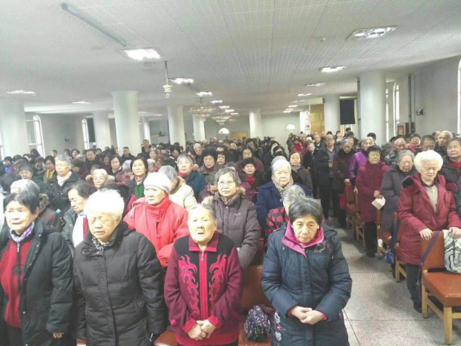 Christians in Urumqi joined in the prayer, Mar. 1, 2019.