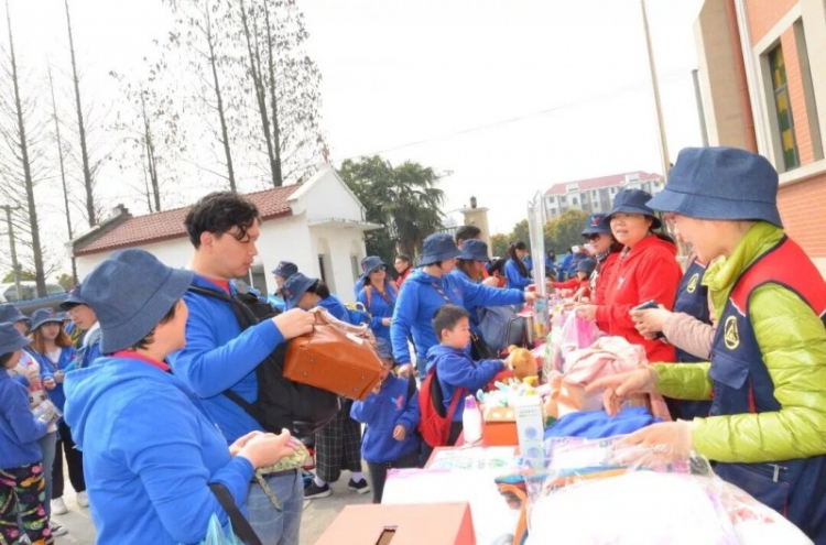 The Shanghai YMCA & YWCA held a bazaar to mark World Autism Awareness Day on March 30, 2019.