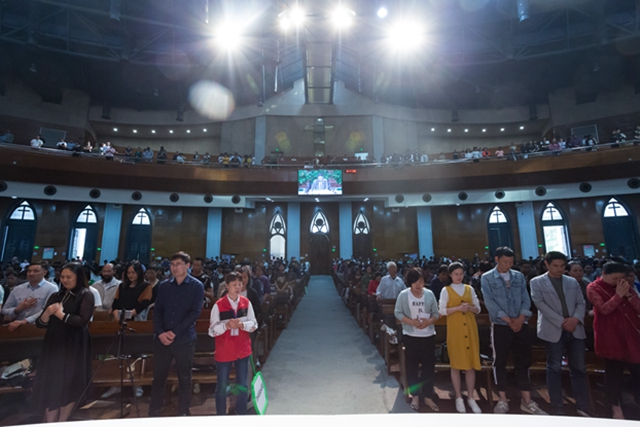 On May 4 and 5, 2019, Hangzhou's megachurch Chongyi Church held a retreat for its clergy and volunteers.