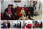 The Joy & Candlelight Fellowship of Beijing Congwenmen Church paid several visits to ill Christians during the Spring Festival