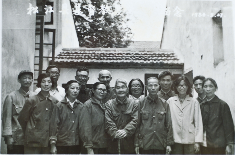 Members who worked for the reopening of Songjiang County Church of Shanghai