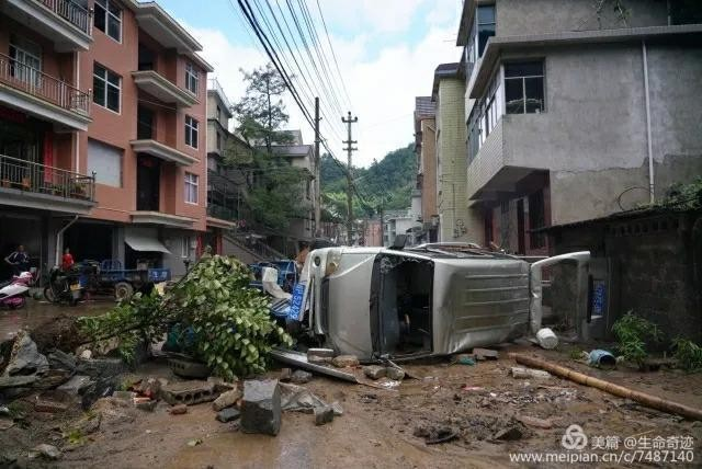 Lin'an District was severely struck by Typhoon Lekima in August 2019.
