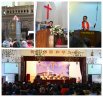 Pastors visted local churches and preach sermons
