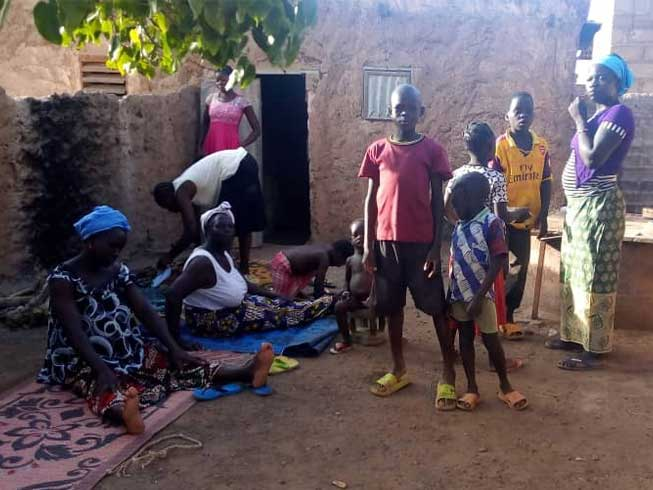 Barnabas Fund is providing food, healthcare and trauma counseling for Christian women and children who fled attacks in Burkina Faso earlier this year.